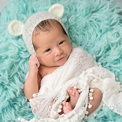 Baby Girls Boys Newborn Crochet Knit Hat Costume Photo Photography Prop Outfits