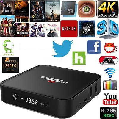 Fully Loaded  Android 5.1 Quad Core 64bit Smart TV Box WIFI 4K Media Player