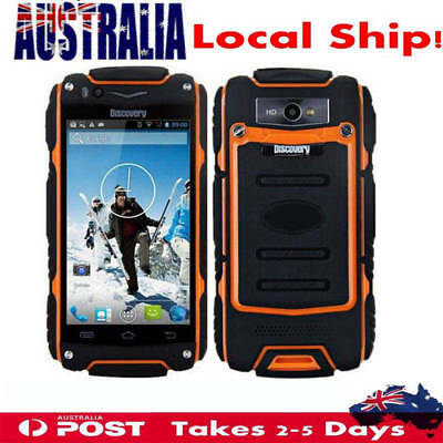 3G Rugged Android Smartphone Discovery V8 Dual Core Sport WIFI Cell Phone Orange