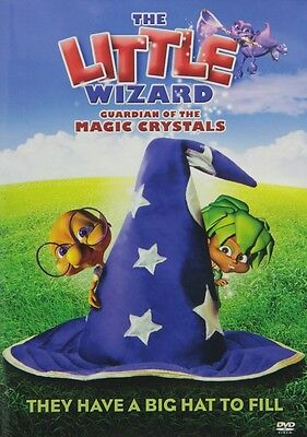 DVD - Animation - The Little Wizard: Guardian of the Magic Crystals -John Cernak
