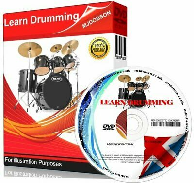 (MD93) Learn How To Play The Drums For Beginners Instructional Tutorial DVD