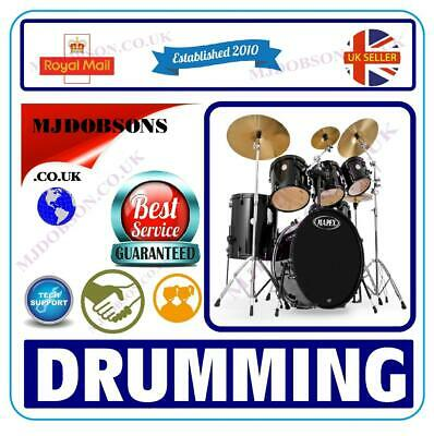 Play The Drums For Beginners Instructional Tutorial DVD✅ (MD93) Learn How To