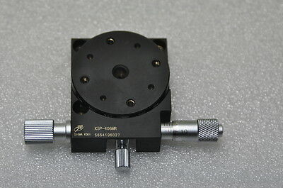 SIGMA KOKI Rotary Stage Positioner 40mmX40mm Height 13mm Brass Precision