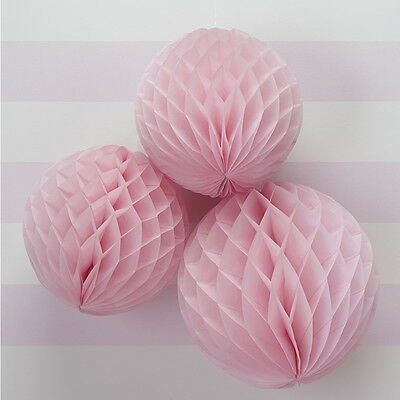 Princess  Party - Honeycomb Balls - 3 Pack