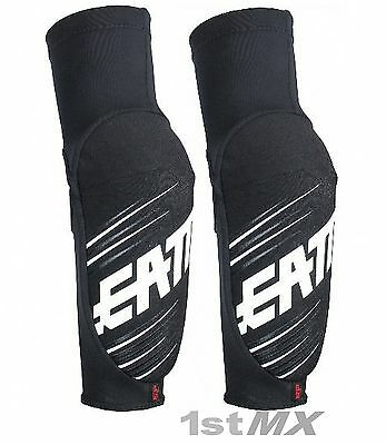 Leatt 5.0 3DF Elbow Guards Youth Motocross Enduro Black Junior