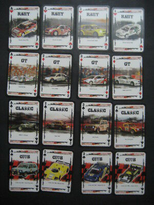 Baraja Poker SCALEXTRIC. Playing Cards.