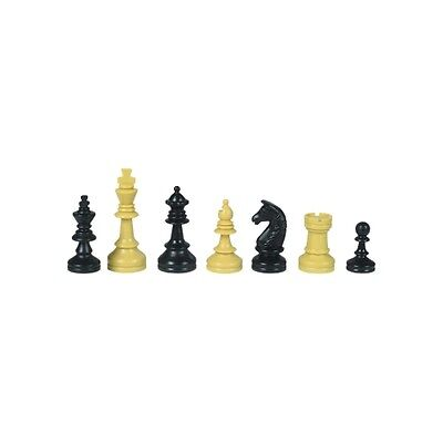 school chess pieces - Plastic - Kings height 55 mm