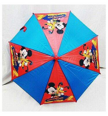 """NWT Official Licensed Disney Mickey Mouse Kids Umbrella (20"""" folded 32"""" Open)"""