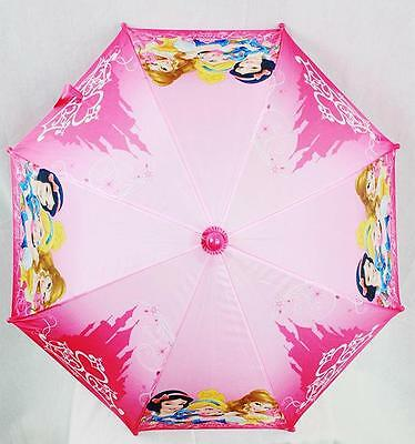 NWT Princess Umbrella by Disney with Snow White, Belle, Aurora For Sun or Rain