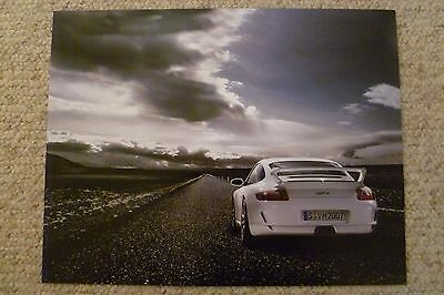 2007 Porsche 911 GT3 Coupe Showroom Advertising Sales Poster RARE!! Awesome L@@K