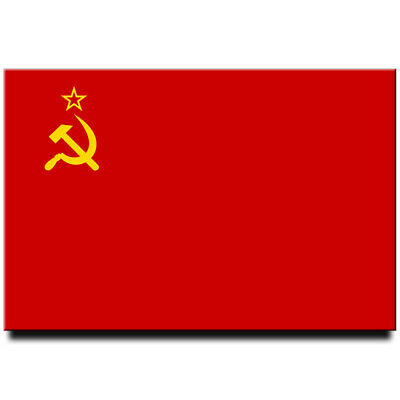 Fridge magnet Flag of Soviet Union (USSR)