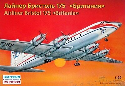 EASTERN EXPRESS 96001 - British Civil Airliner BRISTOL 175 BRITANIA /Modell 1:96