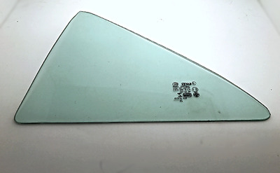 Fits 12-14 Toy Camry Left Driver Side Rear Door Fixed Vent Window Glass