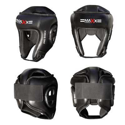 Maxx Boxing Head Guard Helmet Protector Kick Boxing Headguard Protective Gear Pv