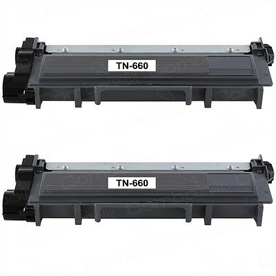 2PK TN660(TN630) High Yield for Brother DCP-L2520 DCP-L2540 HL-L2300D MFC-L2700