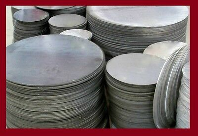 "1/4"" .250 Thick Ss304 Stainless Steel Plate 6"" Diameter Disc * Circle"