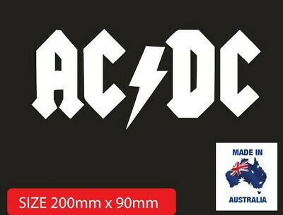 BUY 2 GET 1 FREE ACDC car sticker decal for boat laptop bike or window