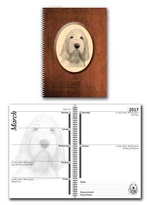 Italian Spinone 2017 Large Dog Show Diary with Show Dates in 7 colours
