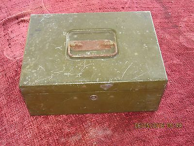 Vintage Army Officer Metal Cash Soldier Payment Box ( Mid month & End Of  Month)