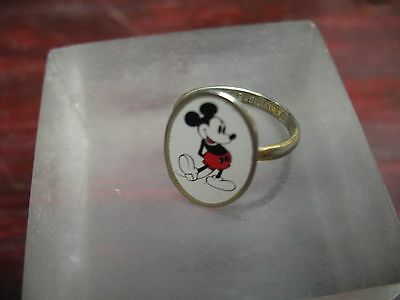 Mickey  Mouse  Ring Expandable Enameled  Walt  Disney Prod.