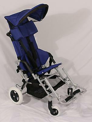 New Stealth Lightning Large Special Needs Stroller Wheelchair 16-18 seat/150 pds