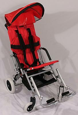 "New Childs/Adults Special Needs Pediatric Stroller Wheelchair 16-18""seat/150 lbs"