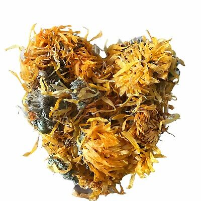 50g Organic Calendula Officinalis - Dried Flower Heads - Postage Included!!