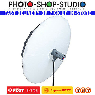 "Phottix 72"" (182cm) Para-Pro Silver Umbrella and Diffuser Combo #85347 *AU STOCK"