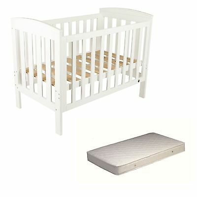 NEW Oxford Baby Cot with Baby Cot inner spring Mattress #`B0151