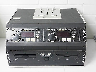 Denon's DN-D400 dual CD/MP3 player with American Audio DJ Mixer