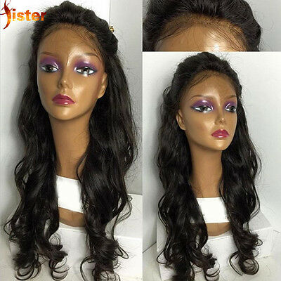 Fashion Womens Synthetic Full Cap Wigs Long Curly Wavy  Lace Front Wig Wavy Wig