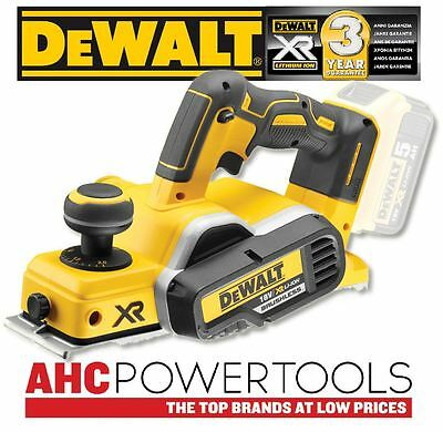Dewalt DCP580N Planer Cordless Brushless 18V li-ion 82mm - Body Only