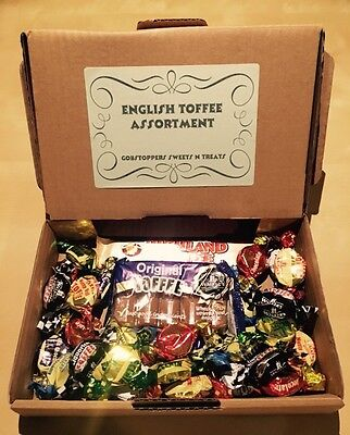 Personalised Gift Box, Walkers English Chewy Toffee, British Sweets, Uk Import