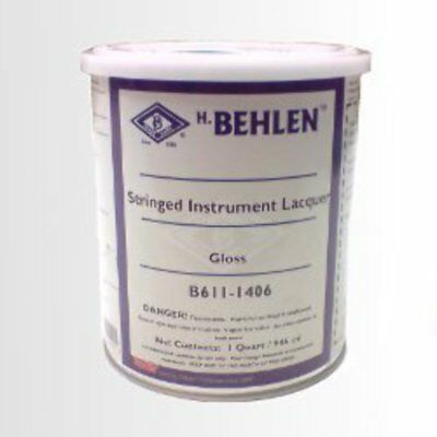 Behlen Guitar & Stringed Instrument Lacquer - Clear Gloss (Nitro)