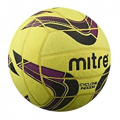 Mitre Cyclone Indoor Football Size 4 Five-a-side Football Felt Classic Ball