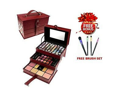 Mixed Eyeshadow Lip Gloss Makeup Kit Set All In One Professional Cosmetic