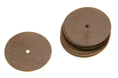 "Ultra Thin Cutting Discs Separating Cut Off Wheels Jewelry Dental .009"" 20 pcs"