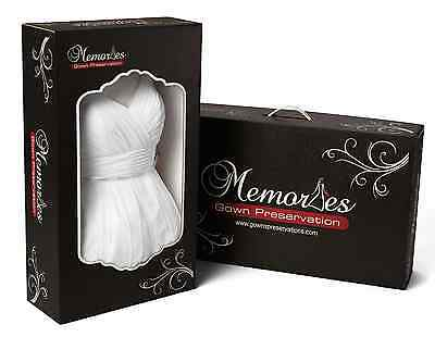 Pre-Paid Label Platinum Wedding Prom Dress Gown Preservation Garment Protection