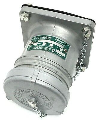 Appleton Acr6044 60-Amp Receptacle 4-Wire 4-Pole