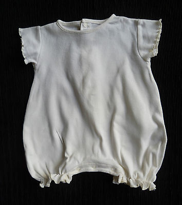 Baby clothes GIRL 0-3m Mamas & Papas cream romper NEW! COMBINE POST! SEE SHOP!