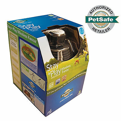 NEW PetSafe Stay+Play Wireless Dog Containment Fence System PIF00-12917