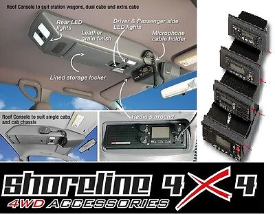 Interior Roof Console NISSAN NAVARA D22 DUAL CAB 1997...ON ROOF CONSOLE