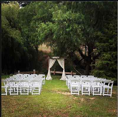 50 - White Americana Wedding Chairs for Hire
