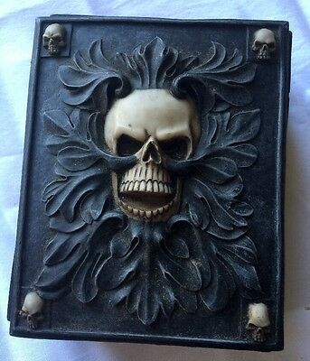 Carved Graphite Resin Charm Jewelry Box