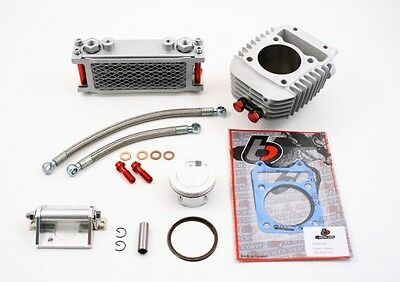 Honda Grom 186cc Big Bore Kit 64mm Cylinder Piston Oil Cooler & Fuel Controller
