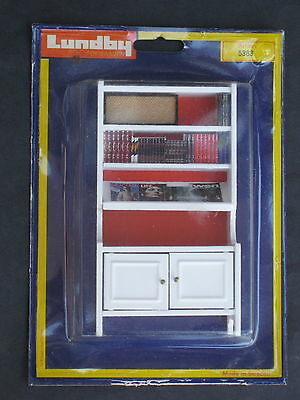 Vintage LUNDBY Dollhouse Bookcase MINT NIP  Article # 5383