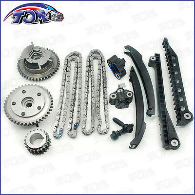 Brand New Timing Chain Kit Cam Phaser For 04-08 Ford F150 Lincoln 5.4L