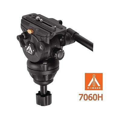 Eimage 75MM Bowl Fluid video head payload 3~8kg tripod 7060H