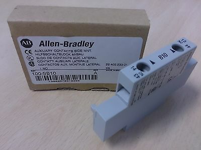 Allen Bradley 100-SB10 1 normally open auxiliary contact New ABCN0358