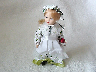 Porcelain Doll - Minature New